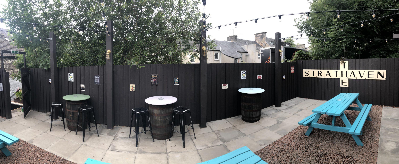 beer garden strathaven